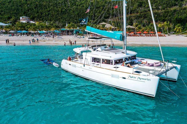 Charter Yacht MAKIN MEMORIES - Lagoon 450 - 3 Cabins - St Thomas - St John - St Croix