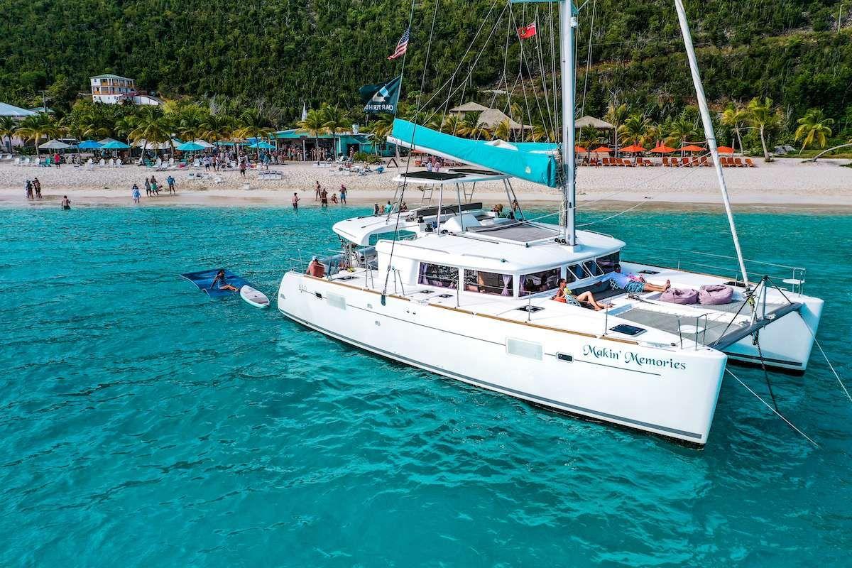 MAKIN MEMORIES - Lagoon 450 - 3 Cabins - St Thomas - St John - St Croix