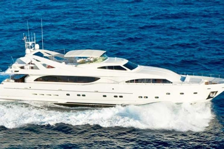 Charter Yacht MAMBO - Ferretti 112 - 4 Cabins - Nassau - Marsh Harbour - Exumas - Bahamas