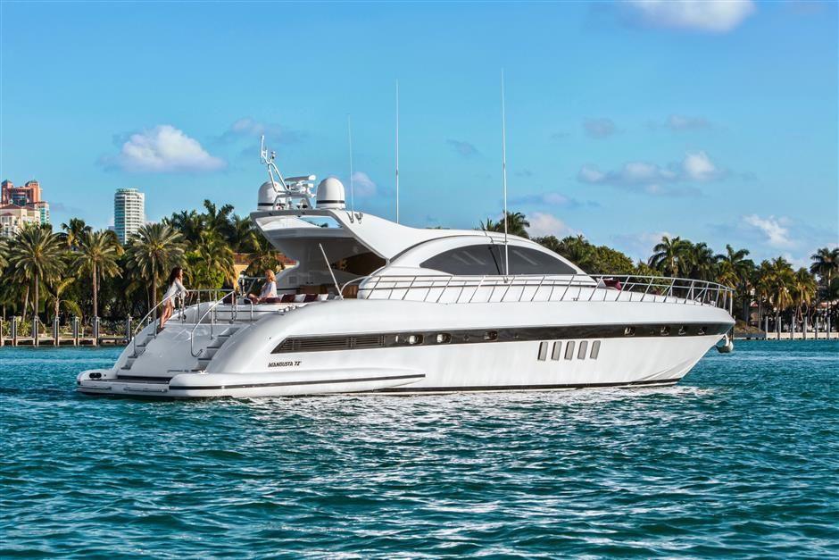 Mangusta 72 - Day Charter - Miami - Bahamas
