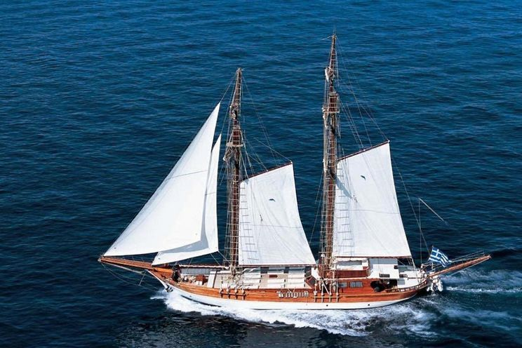 Charter Yacht MATINA - 38m Custom Build - 8 Cabins - Athens - Hydra - Spetses