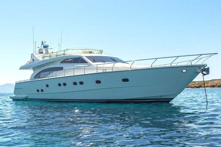 Charter Yacht MELI - Ferretti 68 - 4 Cabins - Athens - Lefkas - Paros - Mykonos
