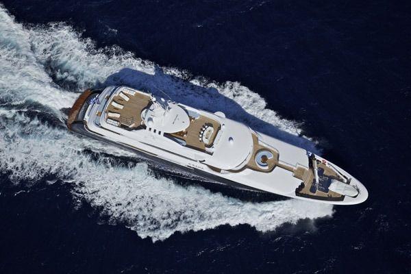 MIA RAMA Golden Yachts 176 Running