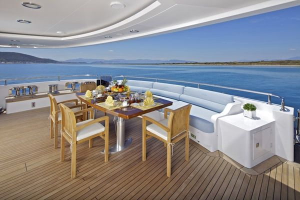 MIA RAMA Golden Yachts 176 Aft Deck