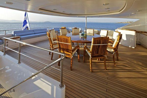 MIA RAMA Golden Yachts 176 Upper Dining