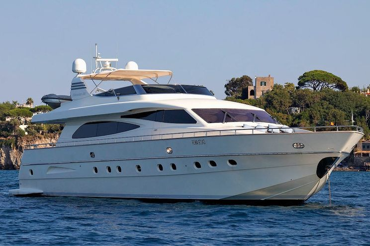 Charter Yacht MINOU - Canados 86 - 4 Cabins - Naples - Sorrento - Ischia - Capri - Amalfi Coast - Italy