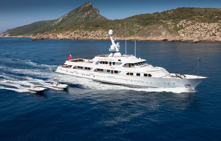 MIRAGE - Feadship 53m - 7 Cabins - Cannes - Monaco - Naples - Caribbean - Bahamas