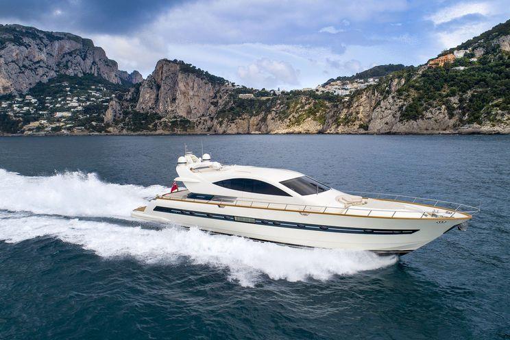 Charter Yacht Moki - Cerri 86 - Day Charter - 4 cabins - Amalfi - Sorrento - Capri