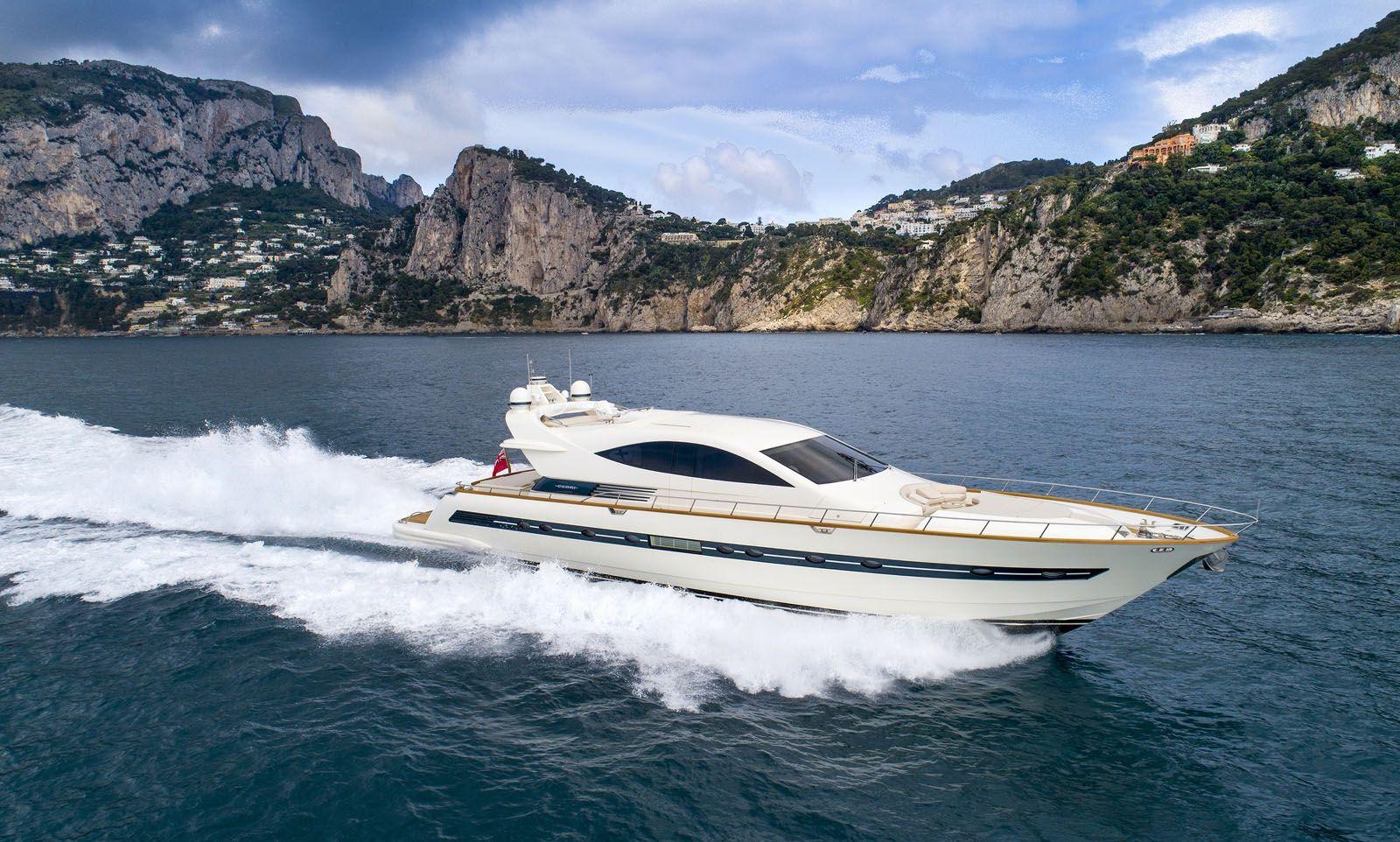 Moki - Cerri 86 - Day Charter - 4 cabins - Amalfi - Sorrento - Capri
