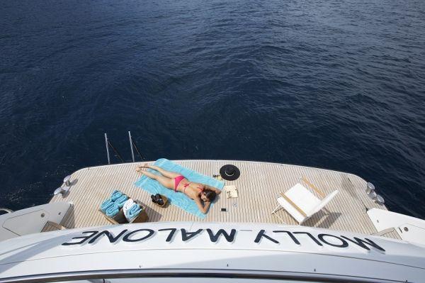 MOLLY MALONE Princess 95 Luxury Motoryacht Swim Platform