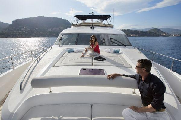 MOLLY MALONE Princess 95 Luxury Motoryacht Bow