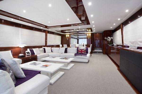 MOLLY MALONE Princess 95 Luxury Motoryacht Saloon