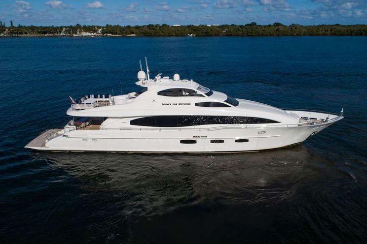 Charter Yacht MONEY FOR NOTHING - Lazzara 116 - 4 Cabins – Florida – Nassau - Bahamas