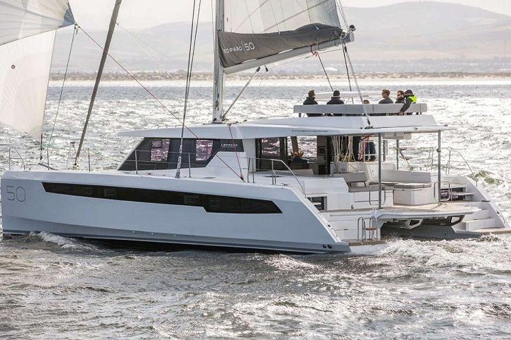 Charter Yacht MOON BLOSSOM - Leopard 50 - 3 Cabins - Tortola - Virgin Gorda - St Thomas - Virgin Islands