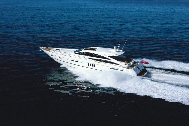 Charter Yacht MORGANE - 3 Cabins -  Princess V65 - Ajaccio - Bonifacio - Porto Cervo