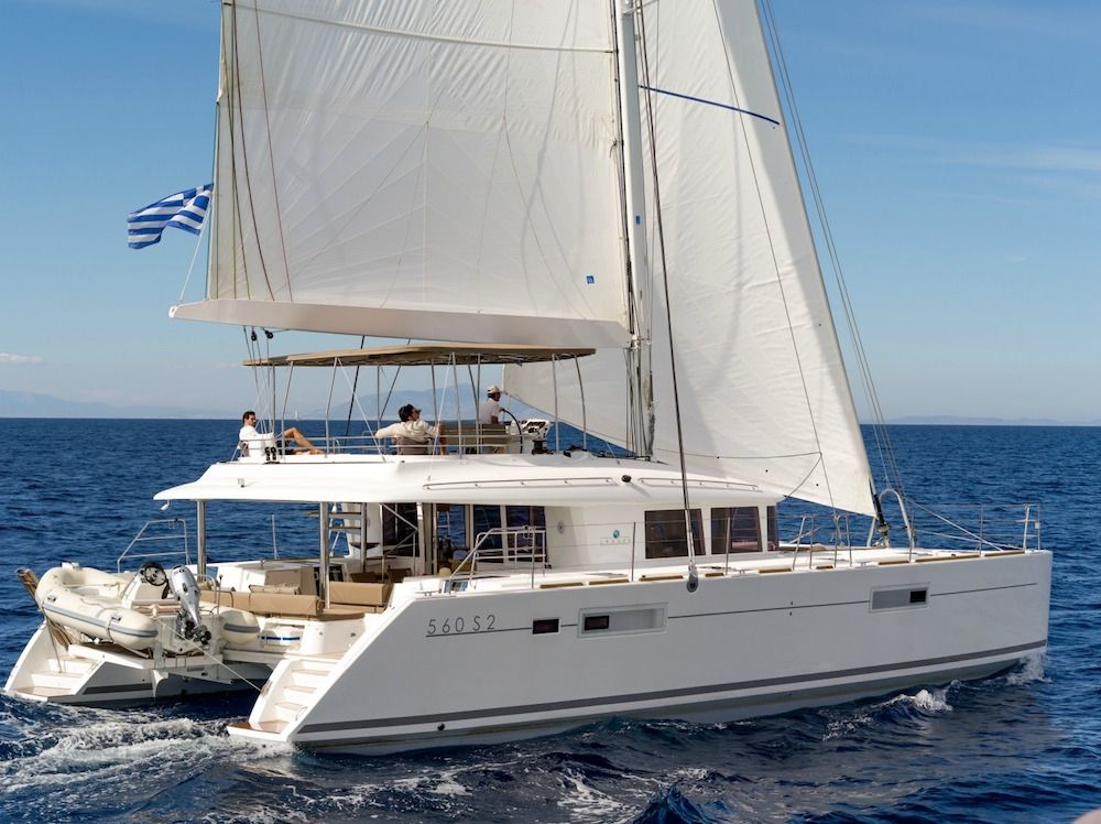 MOYA - Lagoon 560 - 5 Cabins - Athens - Mykonos - Paros