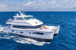 MUCHO GUSTO - Horizon 65 Power Cat - 3 Cabins - St Thomas - Tortola - Virgin Gorda