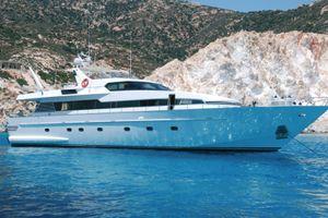MY WAY - 29m Admiral - 4 Cabins - Athens - Mykonos - Kos
