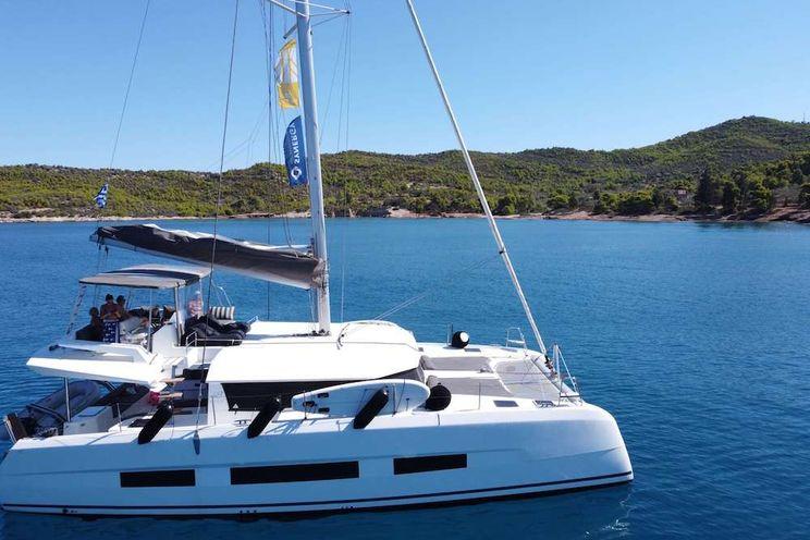 Charter Yacht MY BLUE HEAVEN - Dufour 48 - 5 Cabins - Athens - Mykonos - Paros