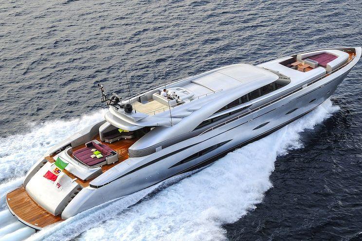 Charter Yacht MY TOY - AB Yachts 140 - 5 Cabins - Athens - Hydra - Spetses - Santorini - Mykonos