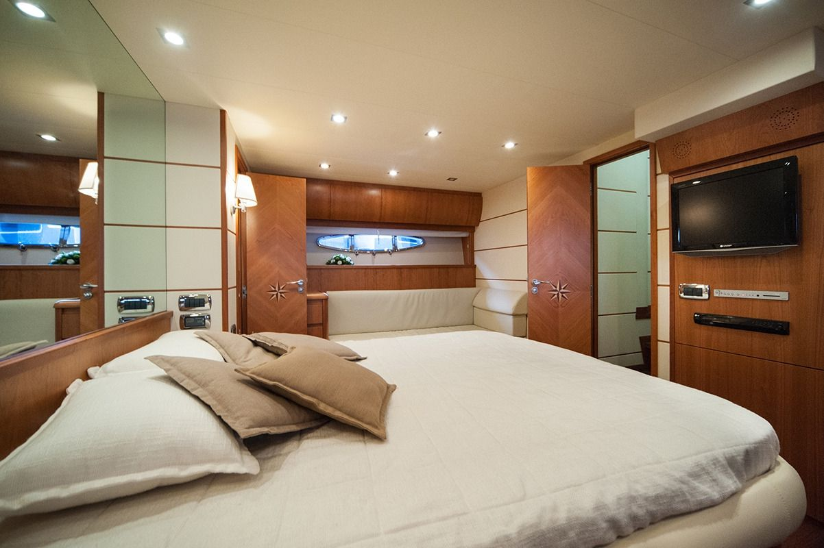 NADAZERO Raffaelli 22m Motoryacht Master Cabin