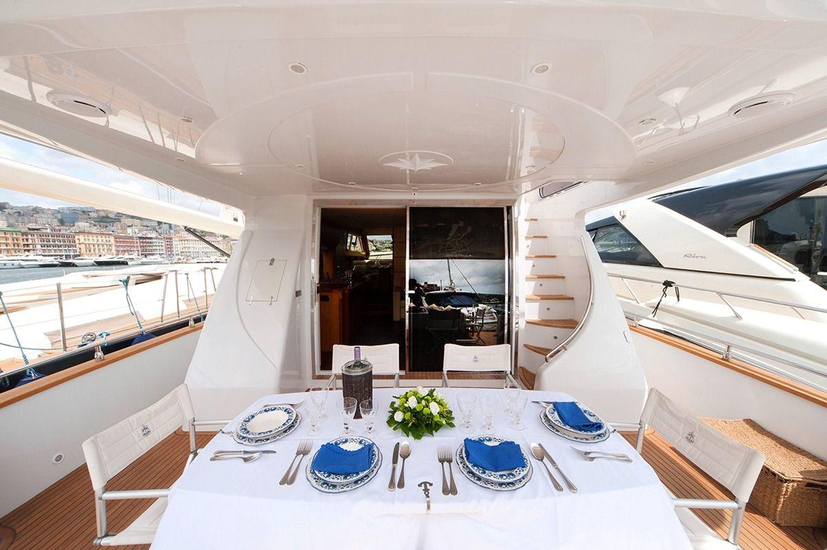 NADAZERO Raffaelli 22m Motoryacht Al Fresco Dining