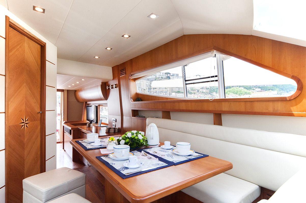 NADAZERO Raffaelli 22m Motoryacht Formal Dining