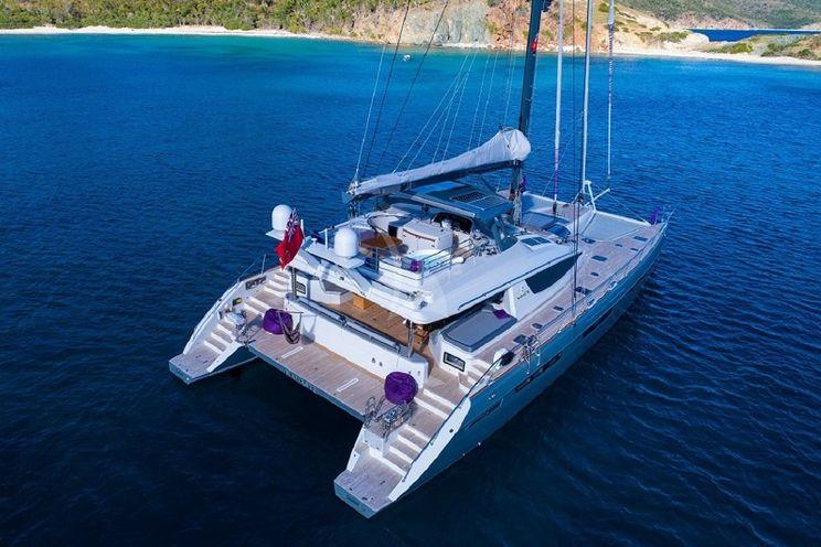 Charter Yacht NAMASTE - Privilege 78 - 3 Cabins - Tortola - Virgin Islands - French Polynesia - Fiji - New Zealand