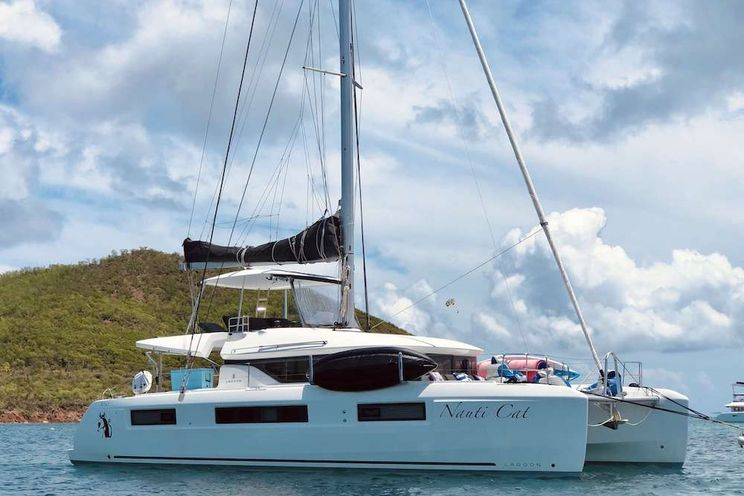 Charter Yacht NAUTI CAT - Lagoon 50 - 4 Cabins - St Thomas - Tortola - Virgin Gorda