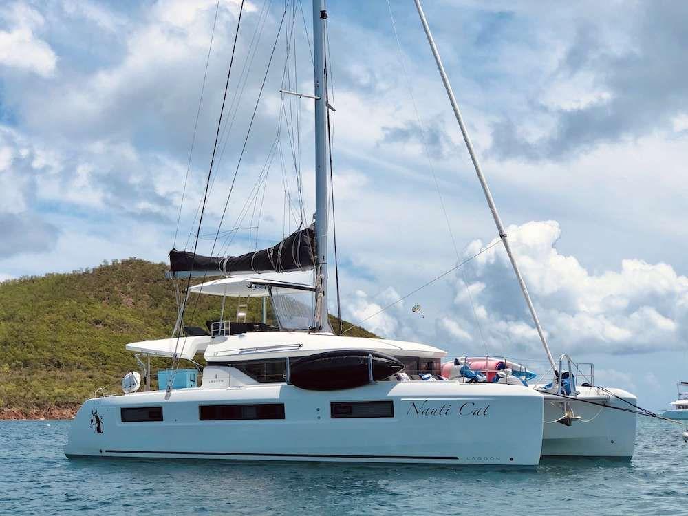 NAUTI CAT - Lagoon 50 - 4 Cabins - St Thomas - Tortola - Virgin Gorda