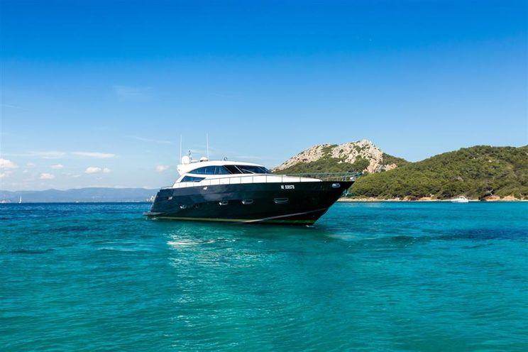 Charter Yacht NEA MONI - Cayman 75 Hardtop - Porto Cervo - Olbia - Sardinia - Portisco