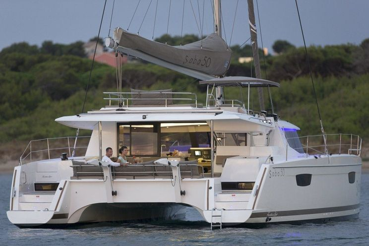 Charter Yacht STAND BY ONE - Fountaine Pajot Saba 50 - 5 Cabins - St Thomas - Tortola - BVI