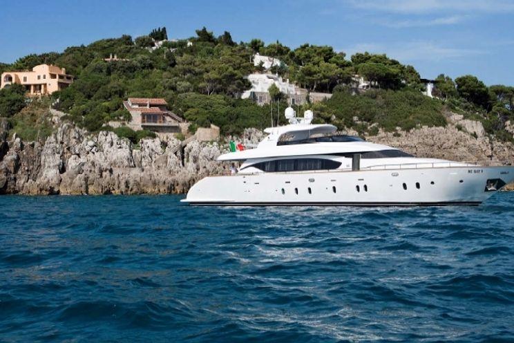 Charter Yacht NIKCA - Maiora 27m - 4 Cabins - Italy - Amalfi Coast - Naples - Gaeta - Capri