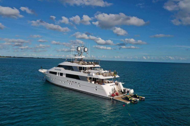 Charter Yacht NO BAD IDEAS - Westport 130 - 5 Cabins - Nassau - Staniel Cay