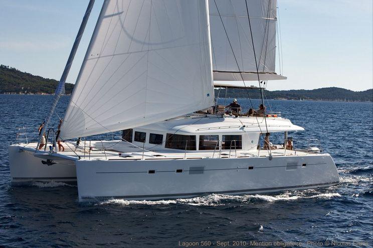 Charter Yacht O CAT - Lagoon 560 - 3 Cabins - Amalfi Coast - Aeolian Islands - Sicily