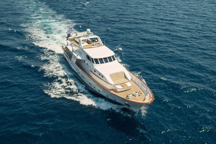 Charter Yacht OCEANE II - CRN Ancona 28m - 4 Cabins - Athens - Mykonos - Rhodes