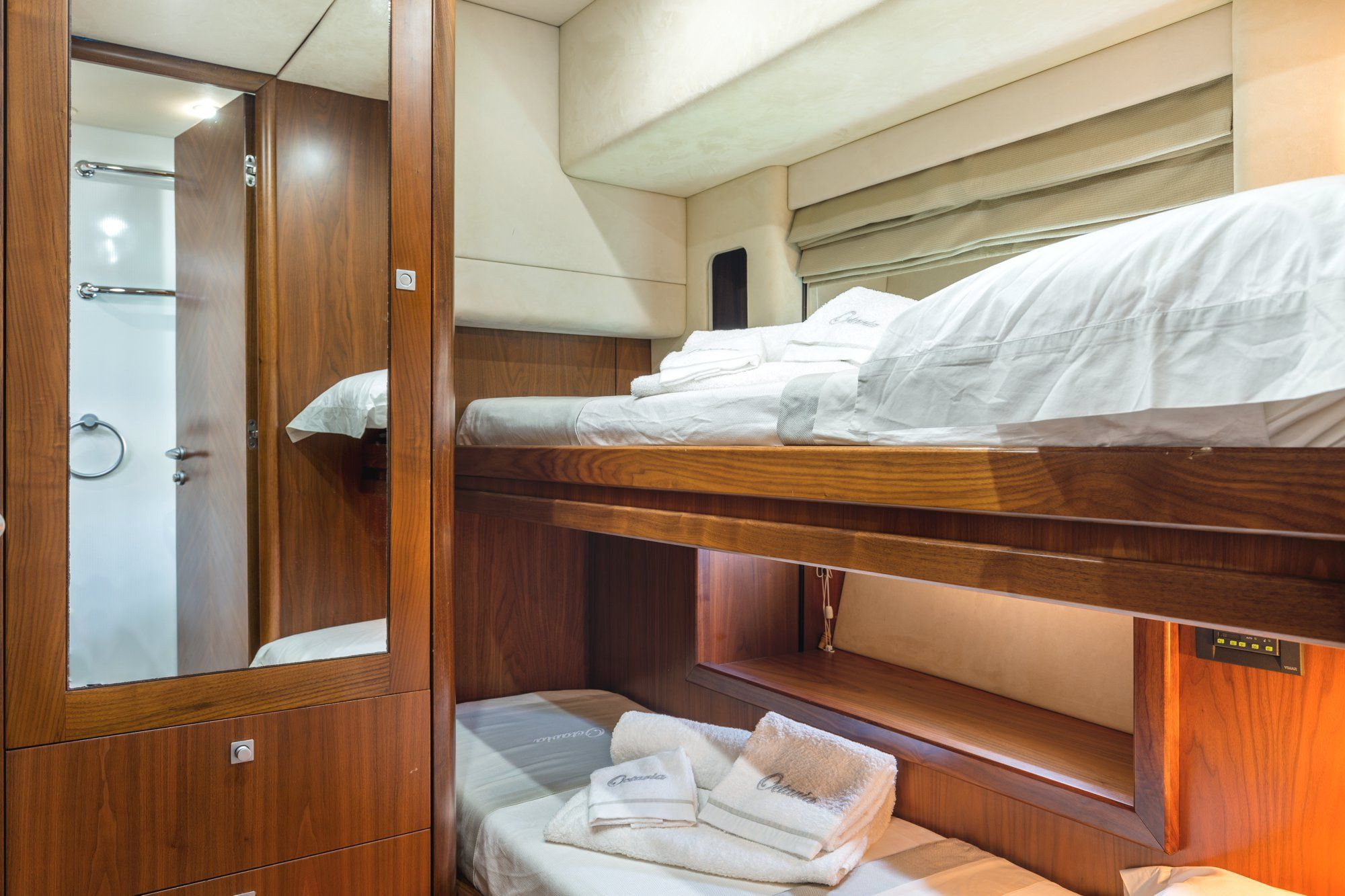 OCTAVIA Sunseeker Predator 83 Luxury Motoryacht Twin Cabin
