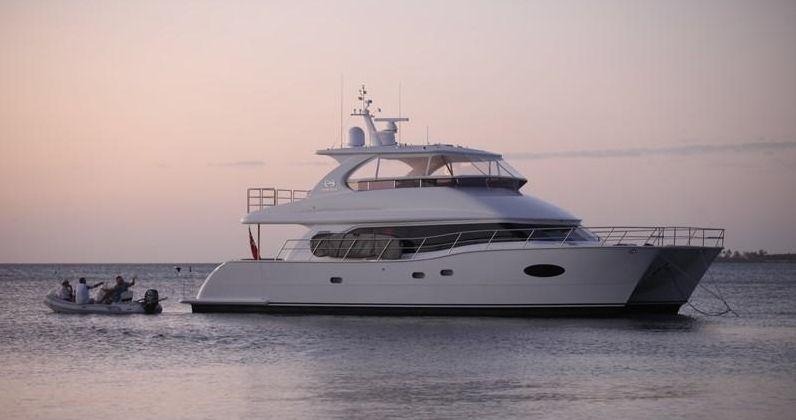 OHANA - Horizon 60 Power Cat - 3 Cabins - Bahamas - Nassau - BVIs - Tortola