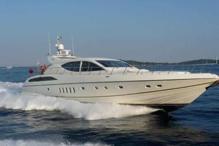 Charter Yacht OLA MONA - Leopard (Arno) 24m - 3 Cabins - St Tropez - Cannes - Nice - Monaco