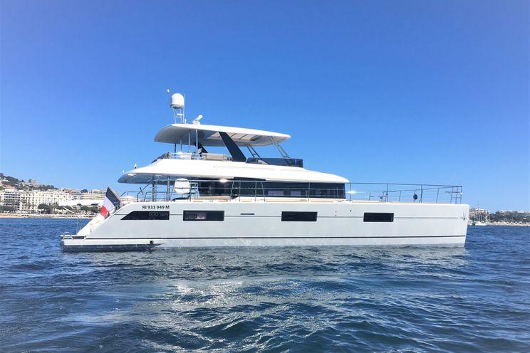 Charter Yacht ORYX - Lagoon 630 - 4 Cabins - Antibes - Nice - Cannes - Sardinia - Corsica