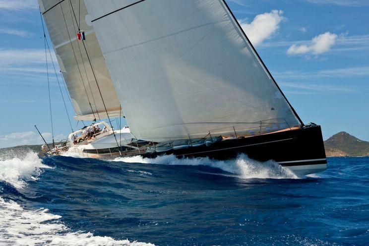 Charter Yacht P2 - Perini Navi 38m - 3 Cabins - St Martin - Leeward Islands - Windward Islands