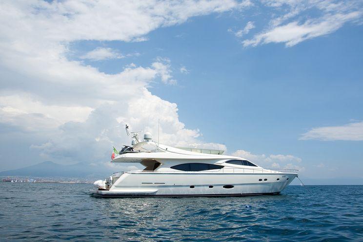 Charter Yacht PAMPERO - Ferretti 760 - 4 Cabins - Naples - Sorrento - Sicily