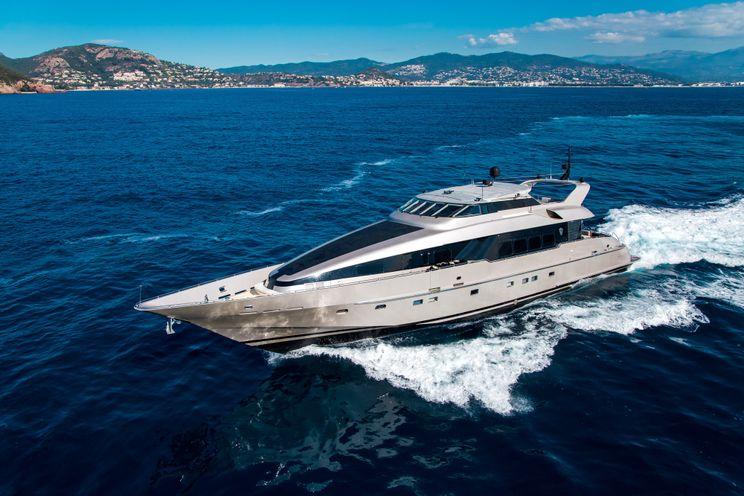 Charter Yacht PANDION - Heesen 120 - 4 Cabins - Athens - Mykonos - Kos