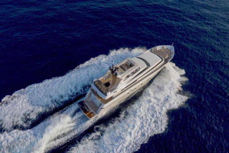 Charter Yacht PANTHOURS - San Lorenzo 88 - 4 Cabins - Cannes - Nice - St Tropez - Monaco