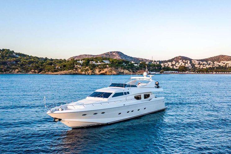 Charter Yacht PAREAKI - Posilippo 78 - 4 Cabins - Athens - Mykonos - Paros