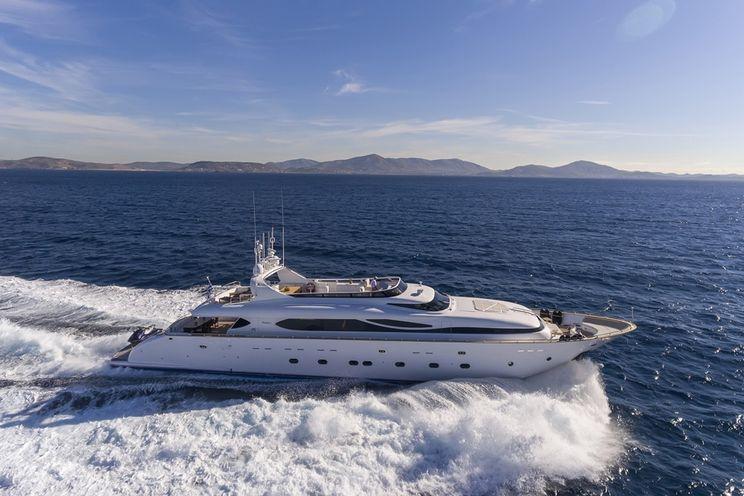 Charter Yacht PARIS A - Maiora 35m - 5 Cabins - Athens - Mykonos - Santorini - Rhodes - Kos