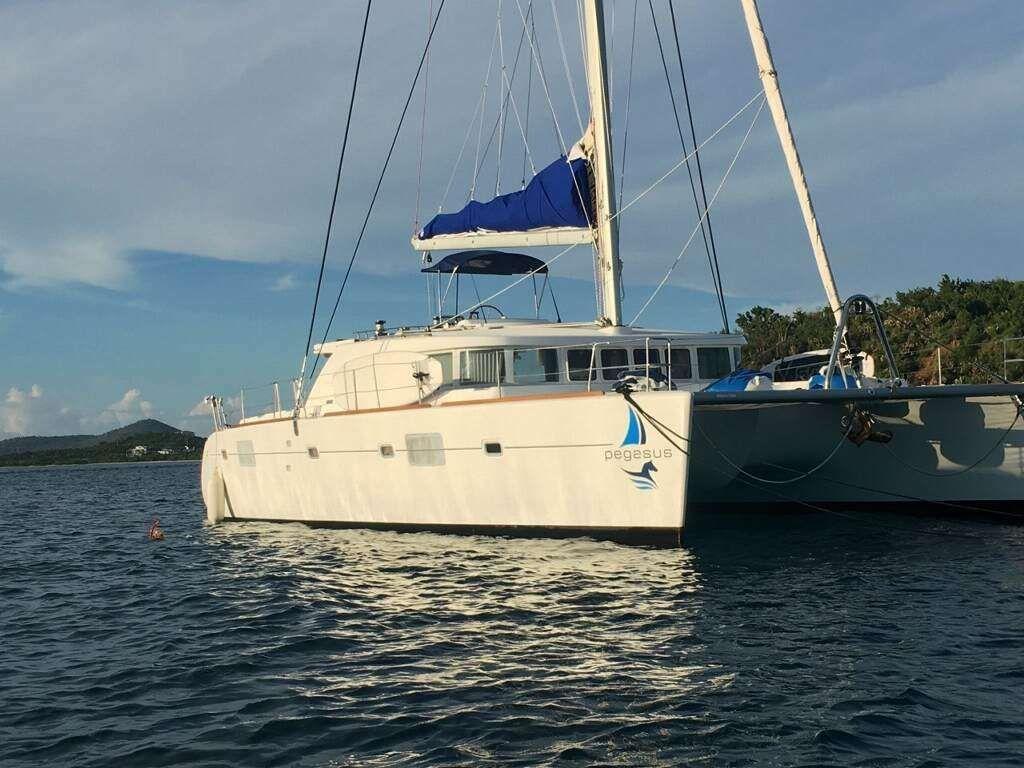 PEGASUS - Lagoon L50 - 3 Cabins - Virgin Islands