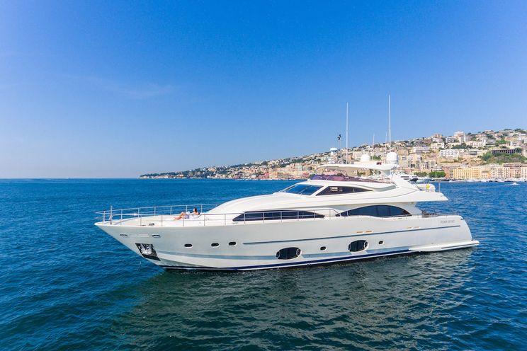Charter Yacht ETHNA - Ferretti 97 - 5 Cabins - Naples - Capri - Amalfi Coast - Milazzo