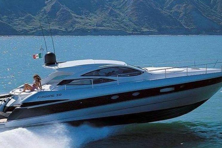 Charter Yacht Pershing 50 - 9 guests cruising - Golfe de Saint-Tropez