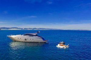 Pershing 62 - Day Charter - 3 cabins(2 double 1 twin)- Ibiza - Formentera